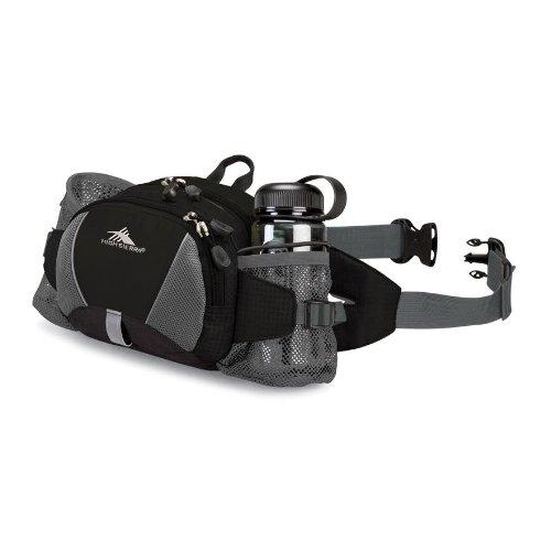 High Sierra Express Lumbar Pack (Black, 8X 6.5X 4-Inch) front-312460