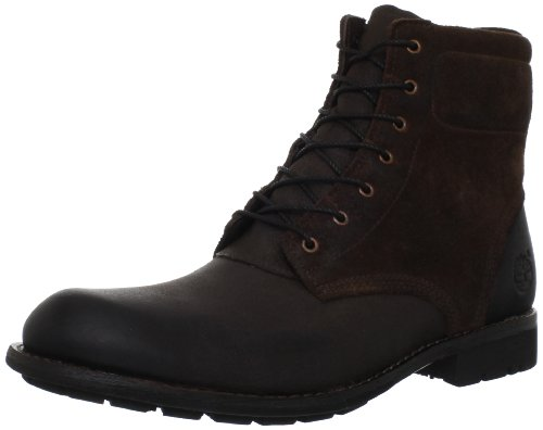 Timberland Men's Earthkeepers City Zip Lace-Up Boot,Dark Brown/Brown,11 M US