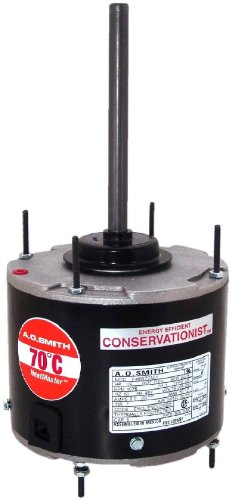 Ao Smith Orm5488F Multi-Hp, 5.6-Inch Frame Diameter, 1/8 To 1/3 Hp, 825 Rpm, 208-230-Volt, 2.1-Amp, Sleeve Bearing