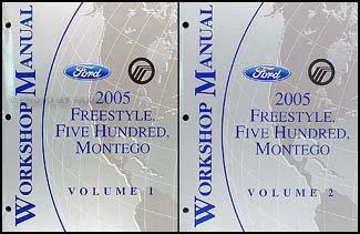 2005-freestyle-500-montego-repair-shop-manual-original