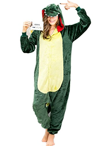 iSZEYU Adult Onesie Pajamas for Women or Men Christmas with Plus Size