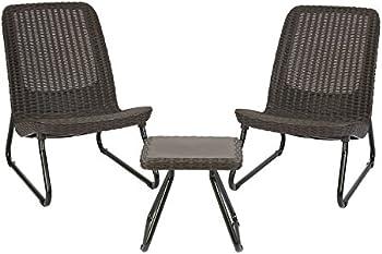 Keter Rio 3-Piece Conversation Chair Set