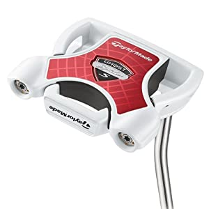 TaylorMade Ghost Spider S Slant Putter (Right Hand, Steel, Uniflex, 35-Inch)