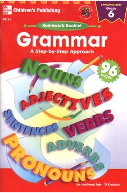 FRANK SCHAFFER PUBLICATIONS HOMEWORK BOOKLET GRAMMAR GR. 6A STEP-BY-STEP APPROACH - 1