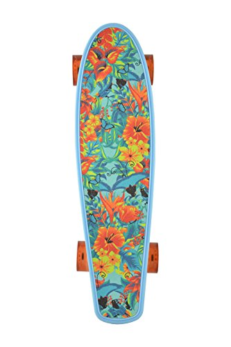 Kryptonic Kryptonic Torpedo Print Design Hawaii Skateboard Retro Grafica, Multicolore, 22'5""
