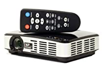 IncrediSonic Pico Projector Vue Series PMJ-500 3D DLP 500 Lumens LED HDMI USB VGA microSD Card WXGA 1280x800 Resolution