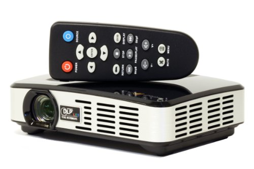 Incredisonic vue series pmj 500 3d pico projector your for Laptop pico projector