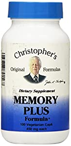 Dr Christopher's Formula Original Memory Plus, 100 Count