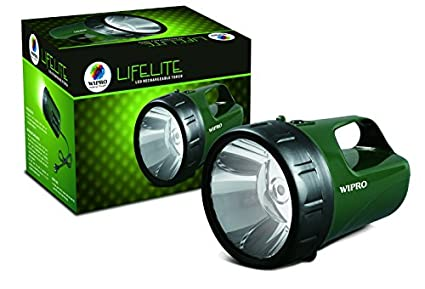 Wipro-Lifelite-LED-Rechargeable-Torch