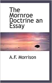 Monroe doctrine essay