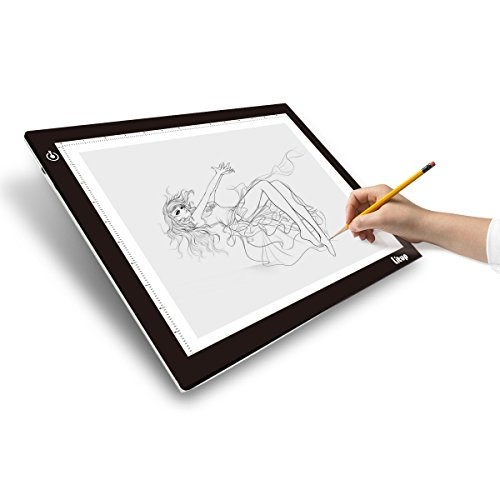 Dimmable tracing light pad b4 slim eyesight protect for Lightbox amazon
