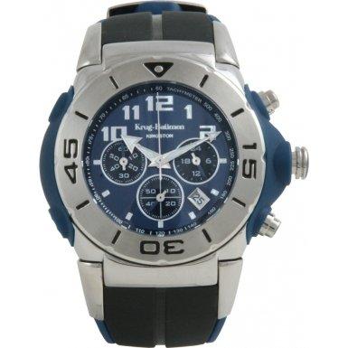 Krug Baumen 160501KM Krug-Baumen Kingston Mens Tachymeter Chronograph Watch - Model 160501KM
