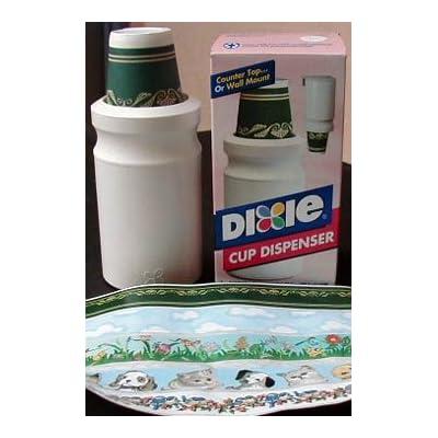 Amazon Com Dixie Wall Mount Bathroom Cup Dispenser