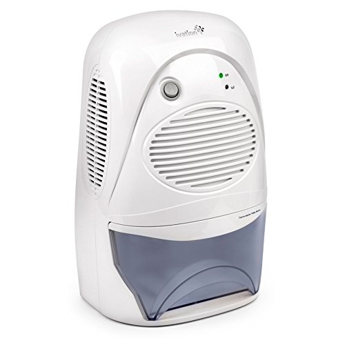 Ivation GDM36 Powerful Mid-Size Thermo-Electric Dehumidifier - Quietly Gathers Up to 20oz. of Water per Day - For Spaces Up to 2,200 Cubic Feet (12 V Dehumidifier compare prices)