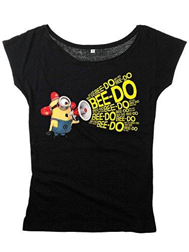 Minions Bee Doo Maglia donna nero M