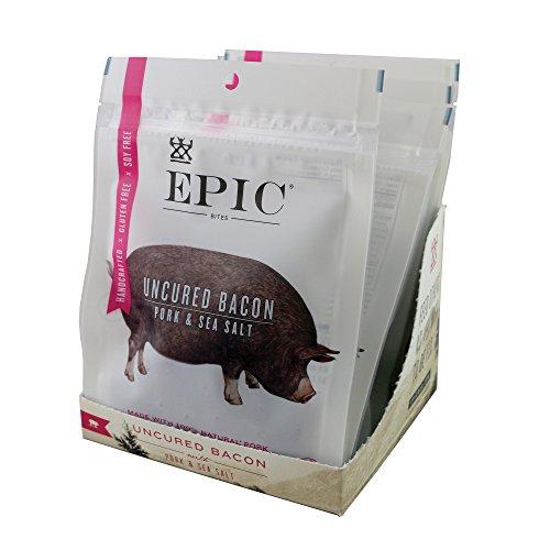 Epic Jerky Bites, Bacon and Sea Salt, 2.5 oz-8 Count