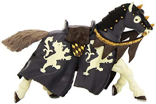 Papo Horse of Black Horseman Figure