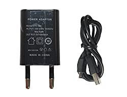 HELLO-G 1.0 Amp UTC88 Wall Charger (Black) suitable for MICROMAX BOLT JUICE 3 Q392 PHONES