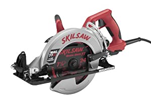 SKIL MAG77LT 15-Amp 7-1/4-Inch Magnesium Worm Drive Circular Saw, Lightest Design at Sears.com
