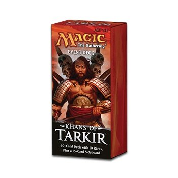 Khans of Tarkir Event Deck - Includes 10 Rares - 1