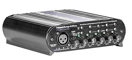 Art Headamp 4 Pro Five Channel Headphone Amplifier With Talkback