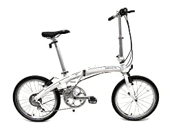Dahon Mu P8 Folding Cloud White Folding Bike from Dahon