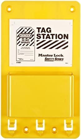 Master Lock Lockout Tag Holder, Unfilled