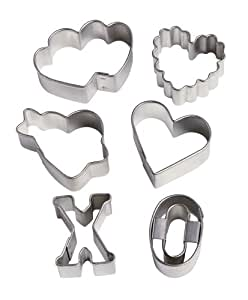 Wilton Valentine's 6 Piece Mini Cutter Set
