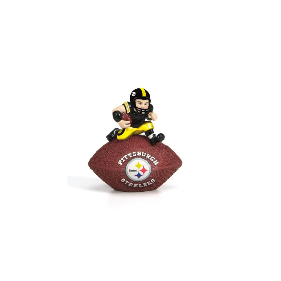 4.5 NFL Pittsburgh Steelers Collectible Football Paperweight