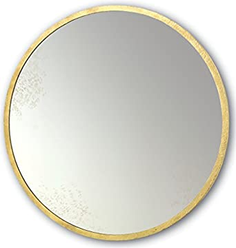 "Amazon.com: Currey and Company 1088 Aline - 42"" Round Mirror"