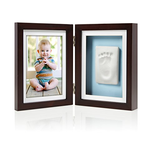 Pearhead Baby Prints Desk Frame, Espresso