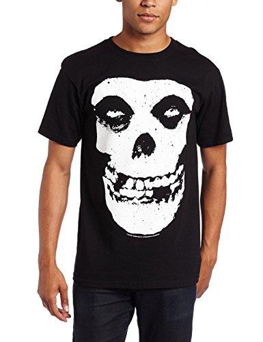 Impact Men's Misfits Skull and Logo Short Sleeve T-Shirt(Medium)