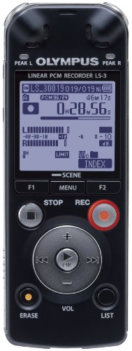 Olympus LS-3 4GB Pocket PCM Recorder