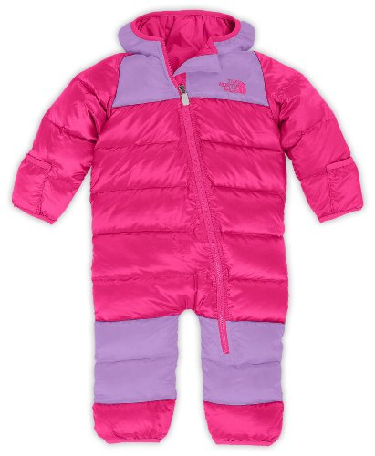 The North Face Infant Lil' Snuggler Down Suit Passion Pink 12-18M front-33429