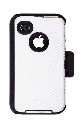 Cheap OtterBox Defender Case for iPhone 4S / 4 (White/Black)