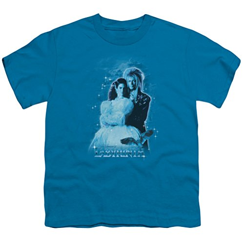 [Kids Labyrinth Peach Dreams Youth T-shirt, Turquoise, Large] (Jareth Costume Shirt)