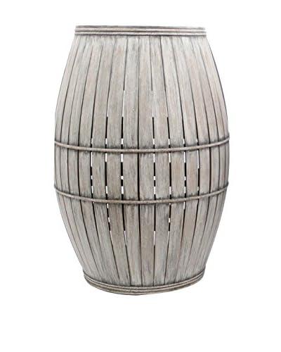 Teton Home Wood Wine Cabinet, Grey