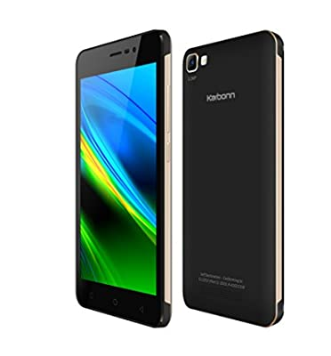 Karbonn Titanium K9 Smart (Black-Gold, 8GB)