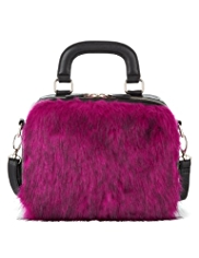 Limited Edition Faux Fur Flight Bag