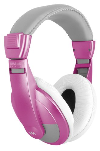 New Vm Audio Srhp15 Stereo Mp3/Iphone Ipod Over The Ear Dj Headphones - Pink