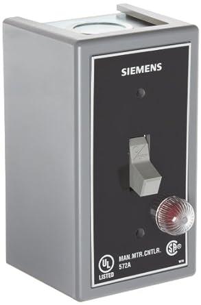 Siemens MMSKG1B Fractional HP Switch, Single and 3 Phase, NEMA Type 1