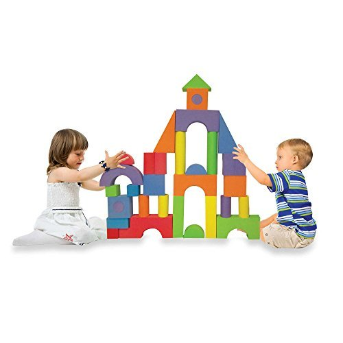 Soft-Safe-Affordable-Verdes-52-Piece-Jumbo-Foam-Building-Blocks-Set