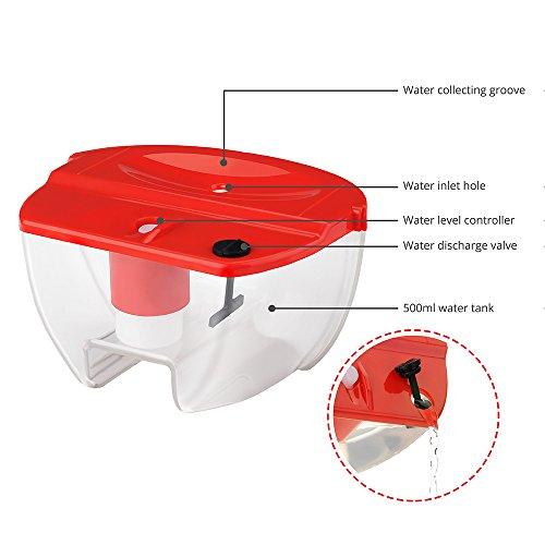 Homasy mini deumidificatore portabile selenzioso 22w for Deumidificatore funzionamento