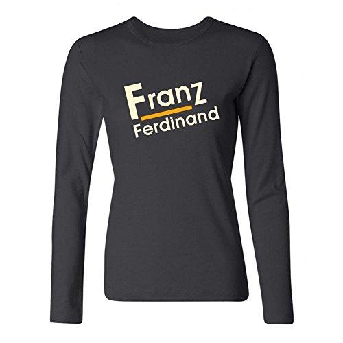 xiuluan-womens-franz-ferdinand-band-logo-franz-ferdinand-indie-rock-long-sleeve-t-shirt-size-m-color
