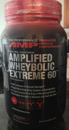 GNC Pro Performance AMP Amplified Whey Bolic Extreme 60