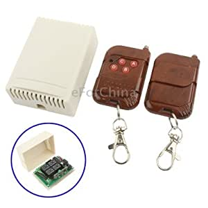 4CH RF Wireless Remote Control Transmitter Receiver