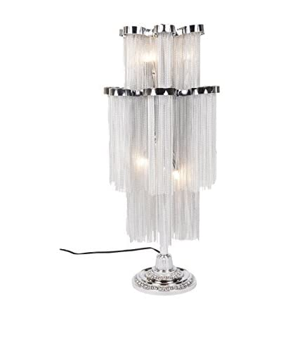 Control Brand The Daphne Table Lamp, Chrome