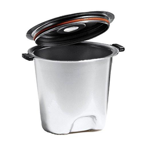 Fill N Save ELITE SERIES Stainless Steel Reusable K Cup. Built to Outlast Your Keurig Machine! For Original Keurig 1.0 and New Keurig 2.0, K200, K300, K400, K500 Series of Machines (Silver)