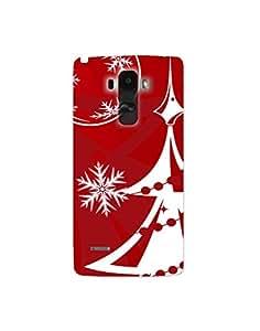 lgg4 stylus ht003 (137) Mobile Case by Mott2 - White Christmas Tree