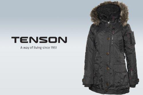 Tenson 1243292 Damen Ultima Jacke Winter Ski Snow Sport anthrazit Gr 40 NEU
